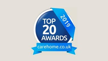HC-One success at Carehome.co.uk Awards 2019