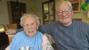 Dundee care home celebrates Valentine's Day