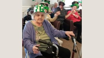 Liverpool care home celebrates St Patrick's Day