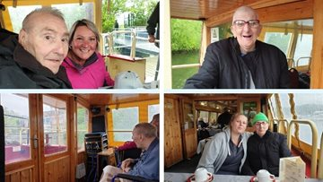 All aboard the Nottingham Crusader for Willow Brook Residents