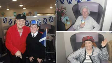 Perth care home host St Andrew's Day celebrations