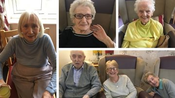 Singing sensation at Sunderland care home