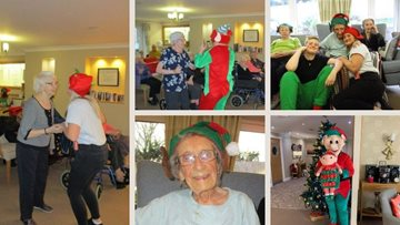 Guisborough care home supports Alzheimer's Society on Elf Day