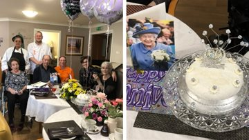 Northfleet care home hosts Diamond celebration