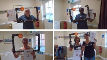 185 years of service celebrated at Carlton care home