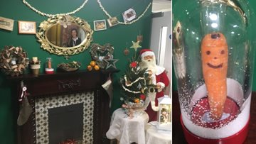Castletown care home transforms into a winter wonderland