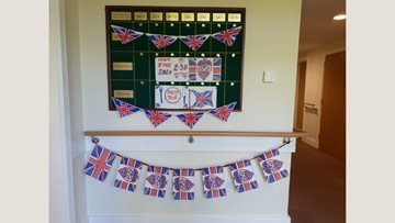 East Grinstead care home Residents celebrate VE day