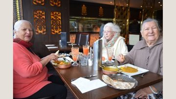 Lunch outing for Hayes care home Residents