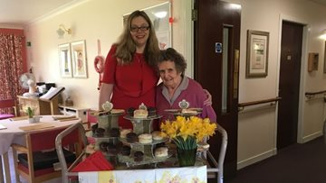 New Cradlehall Manager hosts afternoon tea meet and greet with Residents