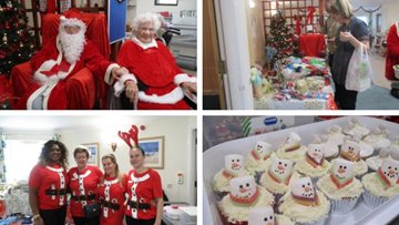 Romford care home spreads Christmas cheer with festive Bazaar