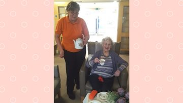 Sheraton Court hold a coffee morning for Dementia UK