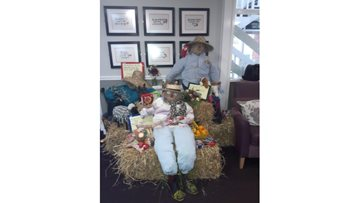 Stanley care home's festival brings community together to celebrate autumn