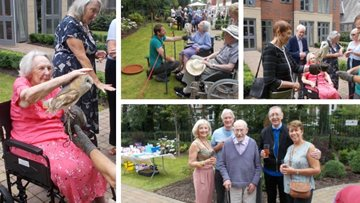 Sizzling summer celebrations at Jesmond care home
