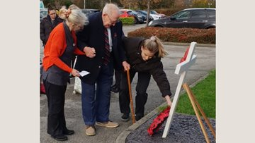 Meadow Bank Care Home holds remembrance service