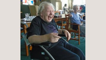 Residents enjoy exercise therapy