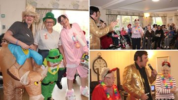 Residents have a fangtastic time at Halloween party