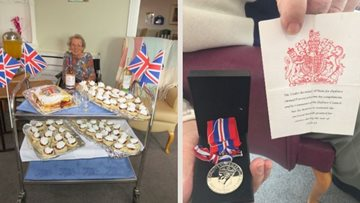 Penrith care home Residents celebrate 75th anniversary of VE Day