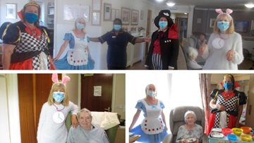 Admirals Reach care home steps into wonderland