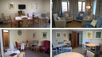Dingle Meadow care home delights at refurbished memory care unit