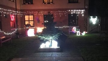 Festive spirit shines bright at Brandon House