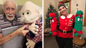 Christmas puppet show is a hit at Clarendon Hall