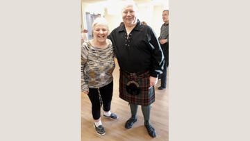 Angus care home host St Andrew's Day celebrations