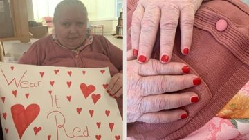 Essex care home wear red to raise awareness of heart conditions