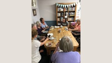 Local community café trip for Northfleet care home Residents