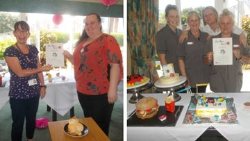 Care Home Open Day celebrations at Consett care home