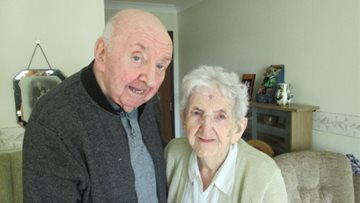 Mum and son reunited in Liverpool care home