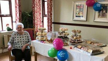 Care home Residents raise money for Alzheimer's