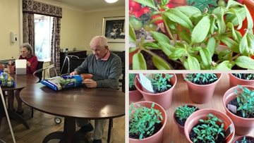 Spring has sprung at Stirling care home