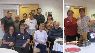 Honiton care home team receives award for kindness