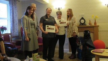 Wotton-Under-Edge care home Colleagues complete Alive Activity Award
