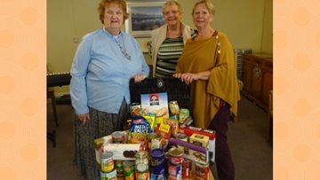 Harvest celebrations at Willow Court