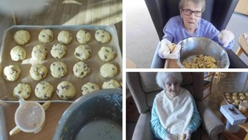 Ready, steady, bake at Colton care home