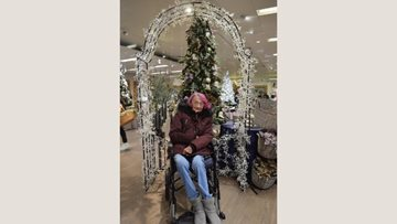 Dartford care home Residents visit local garden centre