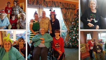 Seasonal celebrations at Redcar care home