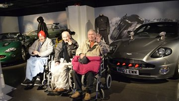 007 experience for Hayes care home Residents