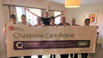 Burntwood care home enjoys success in CQC Report