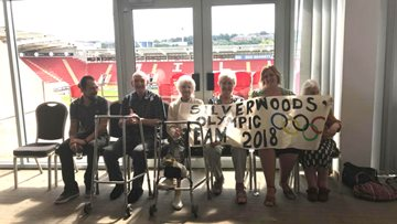 Silverwood enjoy some Care Home Olympics