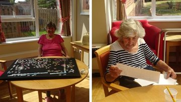 Scunthorpe care home enjoy a morning of games