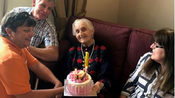 Bankhouse Resident celebrates 97th Birthday