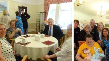 Creative celebrations at Harrogate care home