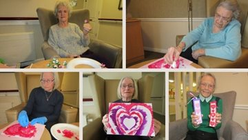 Ayr care home Residents write romantic poetry for Valentine's Day