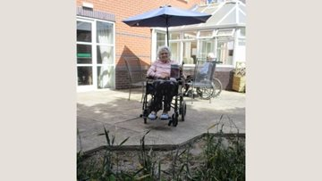 Hinckley care home Residents plant seeds to bring garden to life