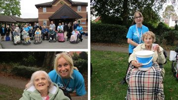 Chelmsford care home takes part in Alzheimer's Memory Walk