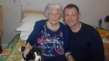 Foxton Court celebrates Resident's 99th birthday in style