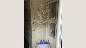 West Bromwich care home create memory tree