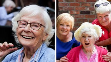 Community enjoys a sizzling summer party at care home